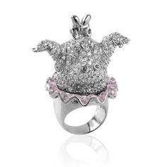 nOir Jewelry - Rings - Hyacinth Hippo
