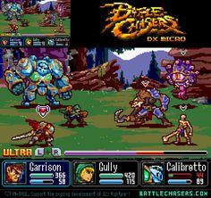 ArtStation - Battle Chasers: DX MICRO, Billy Garretsen