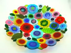 Spring Garden Plate by L.Mote