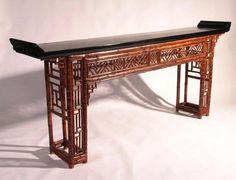 Vintage Asian Furniture Classic Porch Desk Furnishings Pinterest