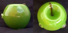 Handblown Green Apple Glass Pipe