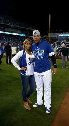 Salvy and his mom