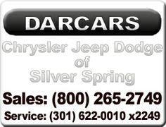 DARCARS Chrysler Jeep Dodge of Silver Spring  #SilverSpring #Maryland AskPatty Certified Female Friendly http://femalefriendlydealer.askpatty.com/index.php?d=DARCARS-CJD_of_Silver_Spring