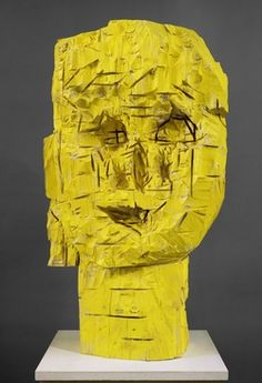 Georg Baselitz, Woman from Dresden, The laughing One, 1990.