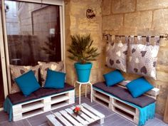 Pallet Furniture Ideas | ... ideas for a cool garden accessories and garden furniture euro pallets
