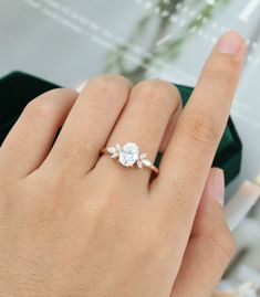 Details about  /2.1 Oval Cut Wedding Solitaire Engagement Anniversary Ring Solid 14k White Gold