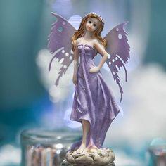 Lavender Resin Fairy #fairygarden