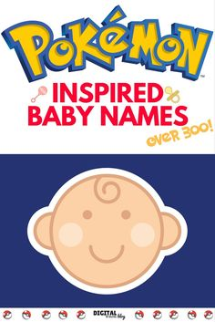Having a baby? Check out these POKEMON inspired baby names - over 300! Don't worry - there are some really cute baby name ideas in here!