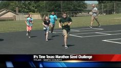 The goal of the statewide initiative is to empower people to create healthy action, collaboration and change in their communities. That change is already happening at Rice Elementary in TISD with a marathon-sized challenge from a P.E. teacher.