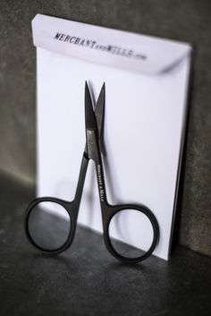 Wide Bow Scissors  by Merchant and Mills, beautiful in black and sharp too, perfect for taming loose ends!• Available online...  www.drapersdaughter.com  #merchantandmills