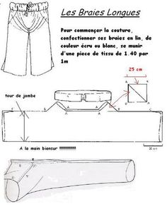 Creations Costumes - Les Braies - Savoie Médiévale