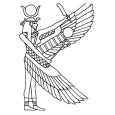 Do you want to help your child discover Egypt in fun, yet educational way? These ancient Egypt coloring pages will enthrall him greatly! Egyptian Crafts, Egyptian Party, Egyptian Symbols, Mayan Symbols, Viking Symbols, Viking Runes, Ancient Symbols, Ancient Artifacts, Colouring Pages