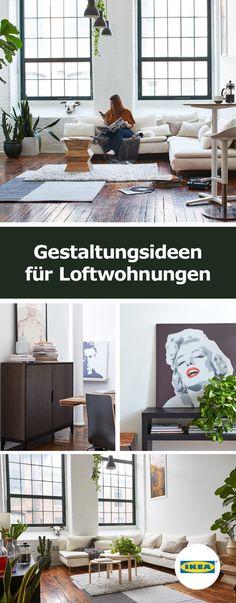 IKEA Deutschland | Finde Einrichtungsinspiration An Ungewöhnlichen Orten  Und Entdecke Eine Loftwohnung, Die Von Stylishen
