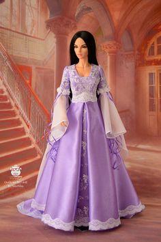 Bjd clothes doll dress. Pre order Elf dress for by NikaNikaShopBJD