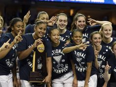 Connecticut found itself back in familiar territory at the top of the women's basketball world after defeating Notre Dame in the NCAA championship game in Tampa.  John David Mercer, USA TODAY Sports