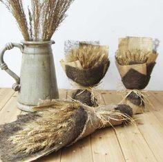 decoração com trigo - Pesquisa Google