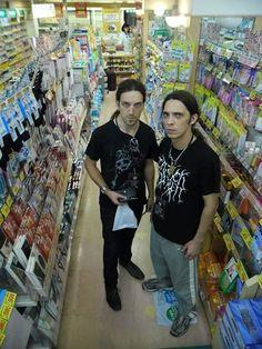 Carach Angren also go shopping at the supermarket hahaha