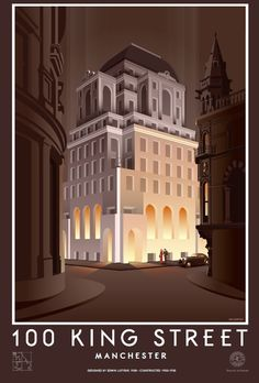 An Impression of the Gotham Hotel on King Street Manchester