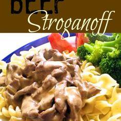 Beef Stroganoff Recipe - Favorite Family Recipes & ZipList