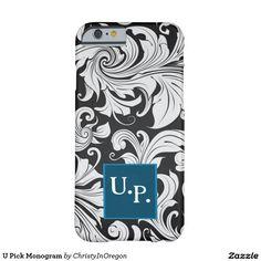 U Pick Monogram Phone 6 Case