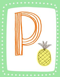 P is for Pineapple $5