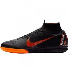 uk availability 90384 50606 Sale 50% Nike Mercurial SuperflyX VI Elite IC Indoor Men s Soccer Shoes  Black-Total Orange-White
