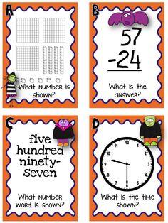 I Spy math :: Step into 2nd Grade with Mrs. Lemons: Halloween Freebies and a SALE!