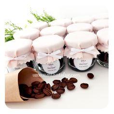 Kavanozda Kahve Çekirdeği Nikah Şekeri