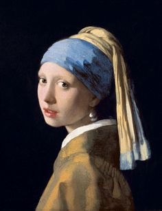 Johannes Vermeer - Girl with the Pearl Earring fine art preproduction . Explore our collection of Johannes Vermeer fine art prints, giclees, posters and hand crafted canvas products Johannes Vermeer, Gustav Klimt, Vermeer Paintings, Rembrandt Paintings, Rembrandt Art, Oil Paintings, Portrait Paintings, Painting Art, Great Paintings