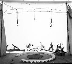 Ugo Mulas. Circus Calder