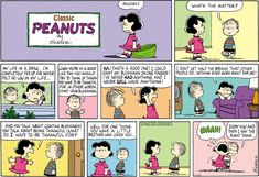 Lucy & Linus. The Van Pelt Family is amazing! Lol :-D
