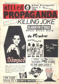 "poison303: "" English fanzine, 1980 """