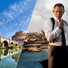 Il nuovo film di James Bond, agente 007 verrà girato nella città eterna - The new James Bond movie agent 007 is currently being filmed in the eternal city