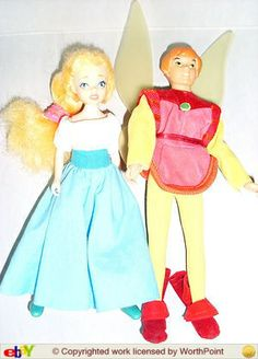 Princess Thumbelina Angelica and Prince Thomas Thumbecornelius