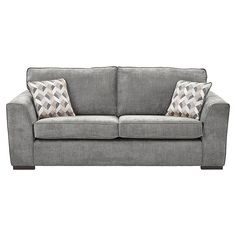 Tesco direct: Boston Large Sofa, Dark Grey