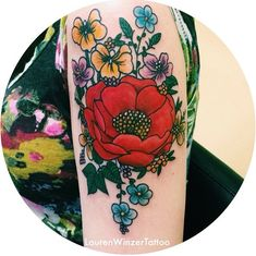 "fuckyeahtattoos: "" By the legendary Lauren Winzer at Hunter and Fox Tattoo, Sydney (AUS) "" Dream Tattoos, Future Tattoos, Love Tattoos, New Tattoos, Floral Tattoos, Tatoos, Girly Tattoos, Small Tattoos, Fox Tattoo"