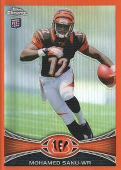 225d013af ... Cincinnati Bengals NFL Trading Card by Topps Chrome.  4.00. 2012 Topps  Co. trading card in near mint mint condition