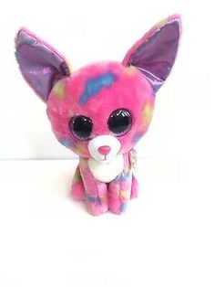 Ad - New Ty Beanie Boos Plush Cancun Chihuahua Dog Toy Stuffed Animal Pink Beanie Boo Dogs, Ty Beanie Boos, Chihuahua Dogs, Plush Animals, Cancun, Handmade Toys, Dog Toys, Pikachu, Pink