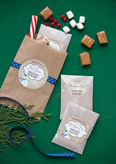 Hot Cocoa Bar or party favor for holiday party