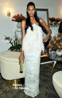 Fabulously Spotted: Jessica White Wearing Christian Siriano - LoveGold Honors Academy Award Nominee Lupita Nyong'o - http://www.becauseiamfabulous.com/2014/02/jessica-white-wearing-christian-siriano-lovegold-honors-academy-award-nominee-lupita-nyongo/