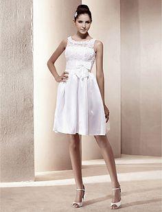 SELMA - Bröllopsklänning av Taft - USD $ 117.59