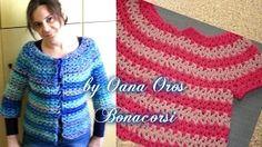 crochet coat for women - YouTube