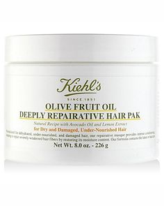 Kiehl's Since 1851 Olive Fruit Oil Repairative Hair Pak | Bloomingdale's