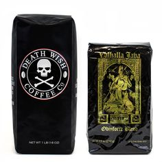 Death Wish & Valhalla Java Coffee Bundle