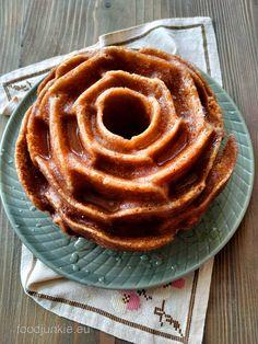 Σιροπιαστό κέικ λεμόνι Apple Pie, Waffles, Lemon, Sweets, Breakfast, Desserts, Recipes, Food, Cakes