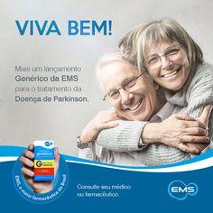 Você sabia? A Doença de Parkinson é a segunda doença neurodegenerativa mais comum em todo mundo, afetando cerca de 4 milhões de pessoas. A EMS lança mais uma opção para o tratamento do Parkinson, proporcionando maior acesso e adesão ao tratamento dos pacientes. Para mais informações consulte seu médico.