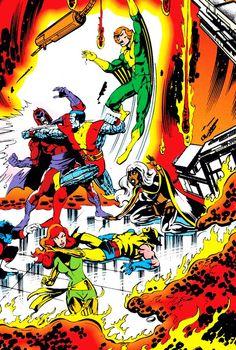 Uncanny X-Men by John Byrne (Written by Chris Claremont) Marvel Comics, Marvel Comic Books, Marvel Heroes, Comic Books Art, Marvel Women, Comic Book Artists, Comic Book Characters, Comic Artist, Marvel Characters