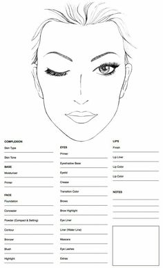 Face Chart by: -You can find Mac face charts and more on our website.Face Chart by: - Free Makeup, Makeup Kit, Skin Makeup, Beauty Makeup, Makeup Ideas, Makeup Artist Tips, Freelance Makeup Artist, Face Chat, Makeup Face Charts