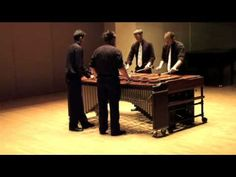 I love Eric Whitacre, and i love it on marimba!!