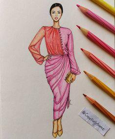New Fashion Sketchbook Ideas Inspiration Drawings Ideas Dress Design Sketches, Fashion Design Sketchbook, Fashion Design Drawings, Fashion Sketches, Costume Design Sketch, Dress Illustration, Fashion Illustration Dresses, Women's Dresses, Fashion Figures